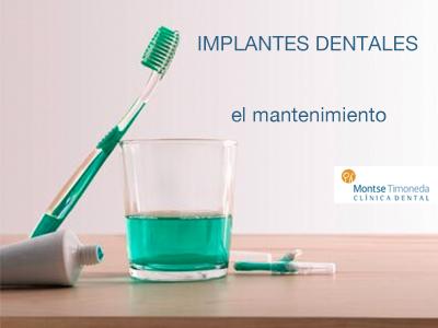 implantes dentales | mantenimiento de implantes dentales