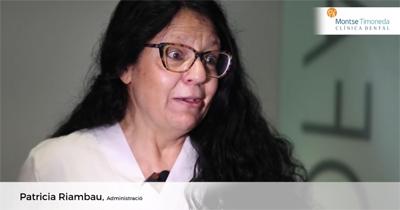 patricia Rimbau, del team de clinica dental montse timoneda