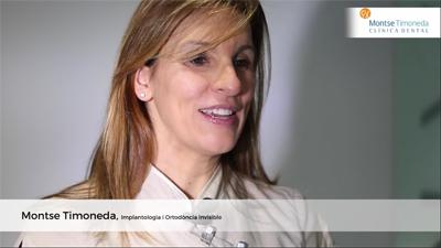 la Dra. Montse Timoneda, dentista en Tarragona