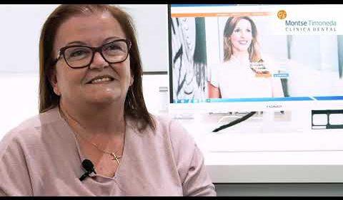 Dentista Tarragona | testimonial de Carmen sobre la Clinica Dental Montse Timoneda