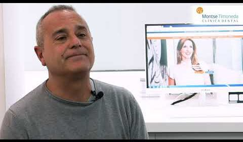 Testimonial Xavier Paris | dentista tarragona | montse timoneda